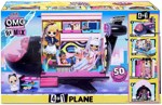 Кукла-сюрприз LOL Surprise! O.M.G. Remix 4-in-1 Plane Playset Transforms 571339