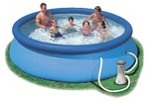 Бассейн Intex Easy Set Pool  c фильтр-насосом 56972 (28112) 244 x 76 см