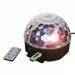 Светодиодный диско шар LED Magic  System Ball с MP3 проигрывателем Код23539