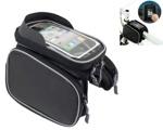 Велосипедная сумка на раму,с водонепроницаемым чехлом для телефона РВ3
