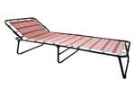 Кровать металлическая раскладная Надин с452 текстилайн Код22089